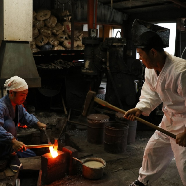 Being strong is not just being tough but also being flexible ~ learning the process of making the Japanese Sword straight from a swordsmith~